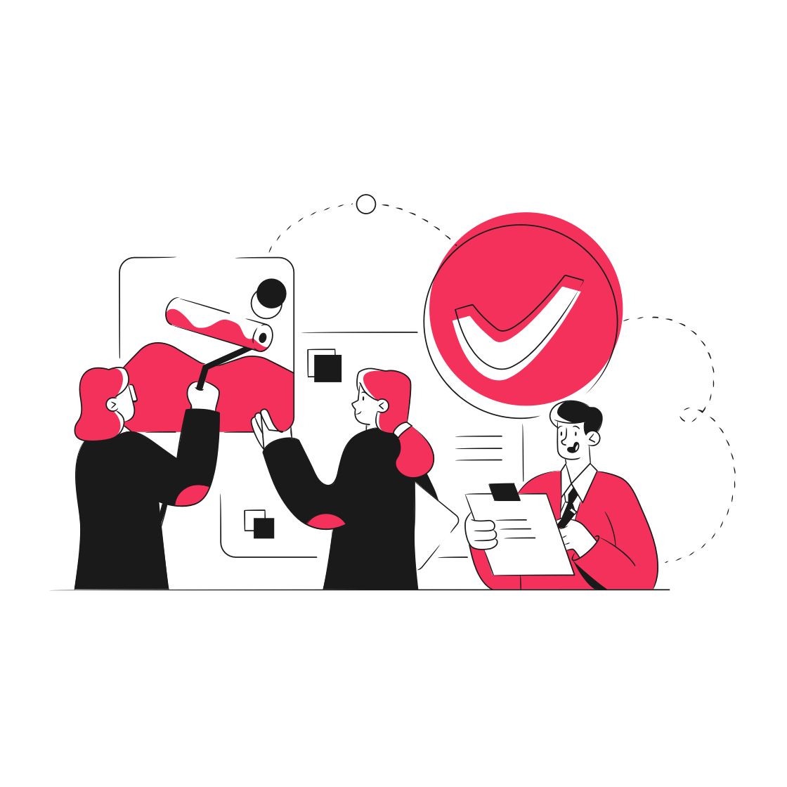 Virality workflow: Content approval